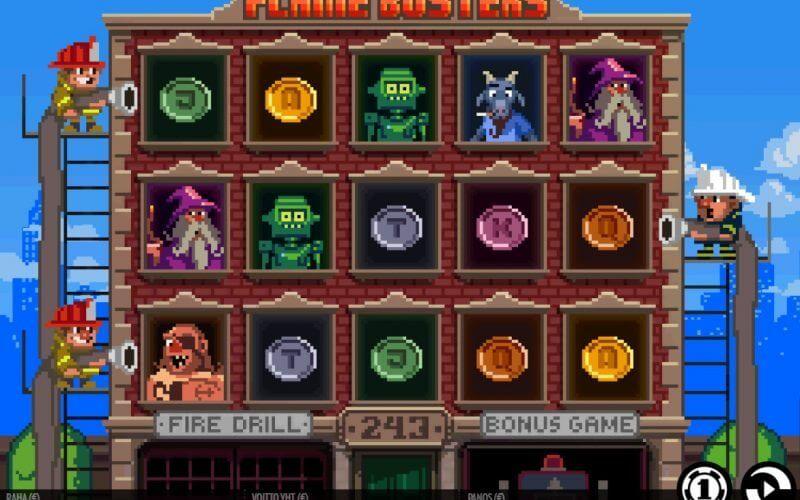 Flame Busters -peli ja erikoistarjous