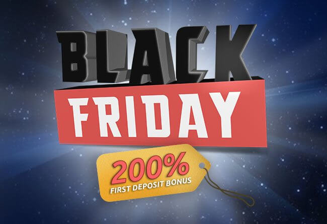 Black Friday 200% bonus Bitstarzille!