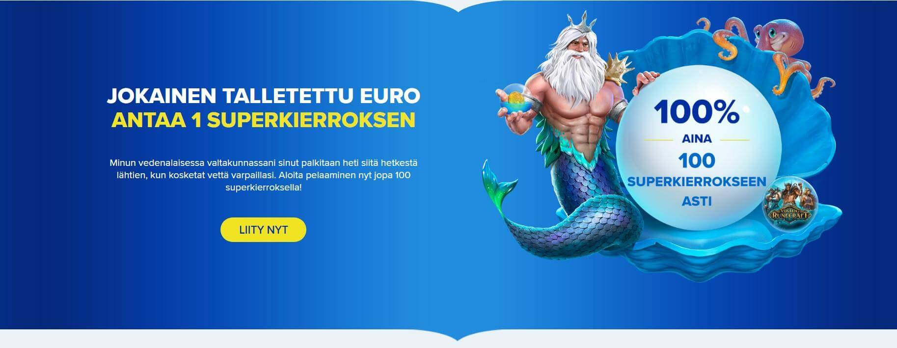 Ahti Casino Bonus