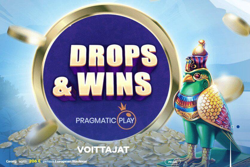 Pelaa Casino Drops & Wins
