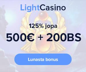 LightCasino ekslusiivinen bonus