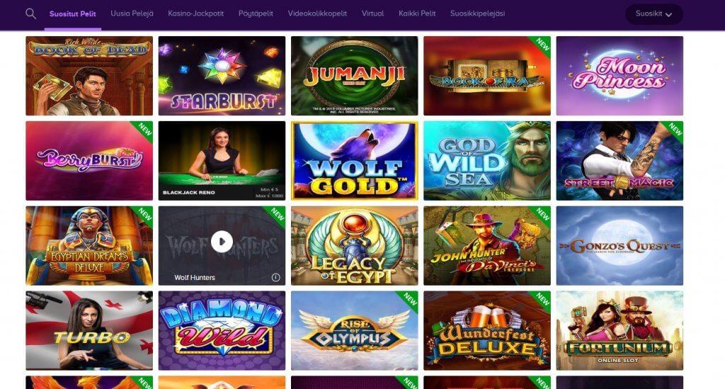 Wild Jackpots Casinon pelit