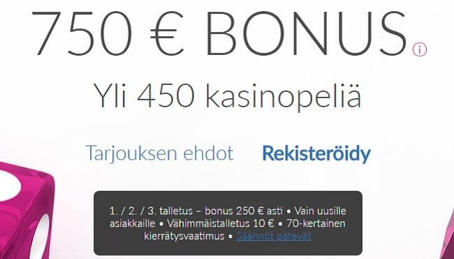 Ruby Fortune Bonus
