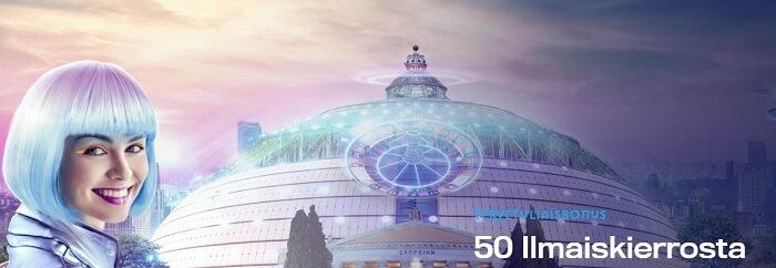 Casino Dome 50 Ilmaiskierrosta